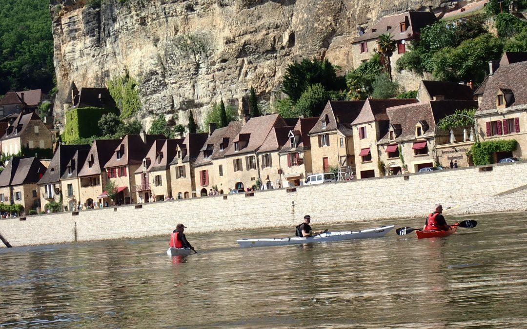 130 KM   de descentes  sur la Dordogne